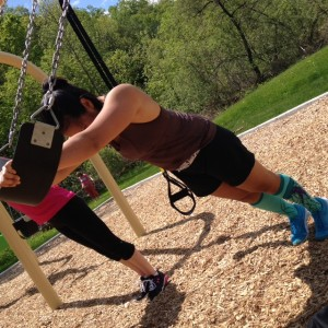 Playground training - The world is your gym!